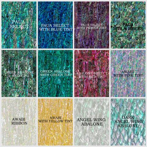 Alvs Acrylic Laminated Shell Veneer Sheets