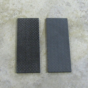 Carbon Fiber Slabs 3K Plain Weave 1 x 3 1/2 x .125 Pair