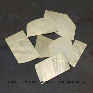 Gold Lip Random Blanks 1 Oz. Bag