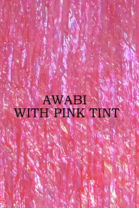 ALVS Awabi Ribbon With Pink Tint
