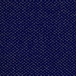 Chain Link Acrylic Navy Blue With Silver 3/16