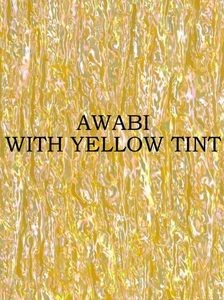 ALVS Awabi Ribbon with Yellow Tint