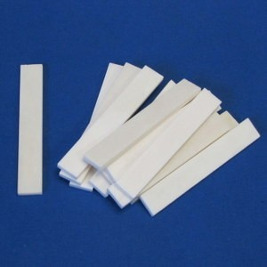 Bone Saddle Blanks P/N 533-70 - 140-130-868 - .135 Thick x .510 Wide x 3.250 Long