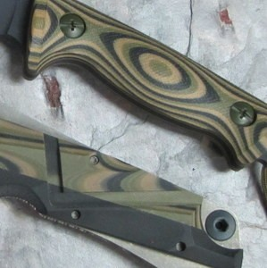 G10 Camo Olive Drab Green & Coyote Brown & Black 3 x 3 Layering 3/16""