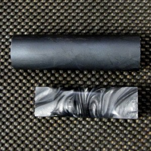Polyester Black Lip Pearl Rod 1 1/2