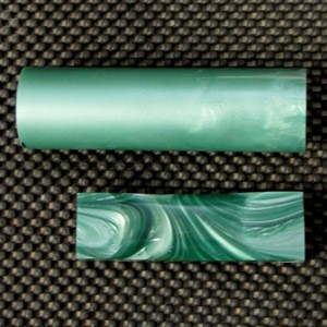 Polyester Antique Green Pearl Rod 1 1/2