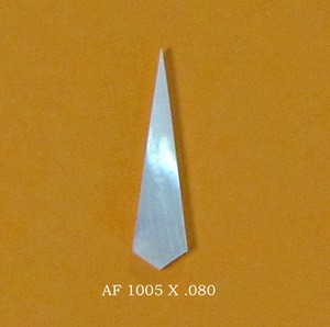AF P/N 1005 Mother of Pearl X .080 bag of 25 pcs