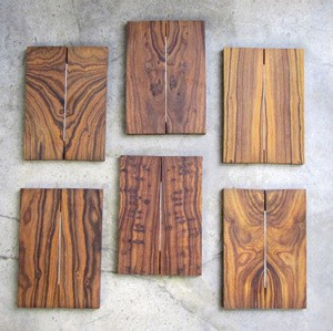 Desert Ironwood Book matched high contrast pairs 3/8 x 1 3/4 x 5